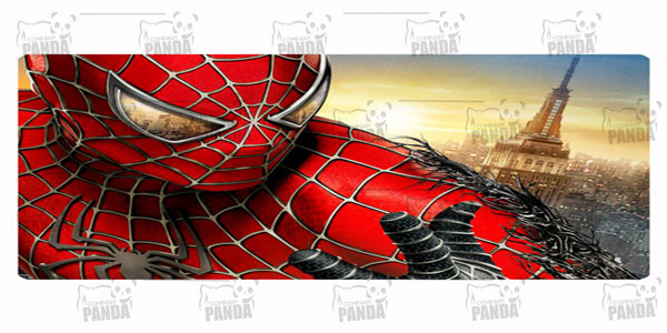 فروش عمده روبالشتی مرد عنکبوتی مخمل