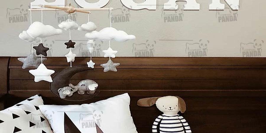 چه بالش هایی مخصوص تزئین اتاق نوزادان می باشد؟